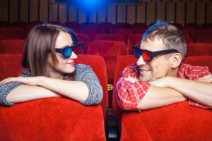 映画館や観光スポット